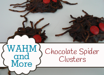Chocolate Spider Clusters Halloween Recipe