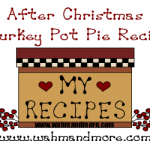 After Christmas Turkey Pot Pie Recipe