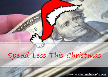 Five Ways to Spend Less This Christmas