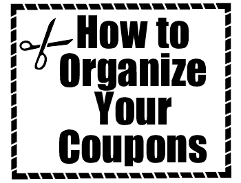 Fun and Easy Ways to Organize Your Coupons