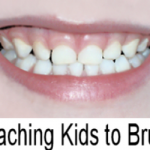 teaching kids to brush